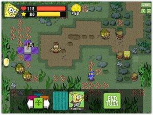 دانلود بازی کم حجم باب اسفنجی SpongeBobs Atlantis SquareOff برای کامپیوتر