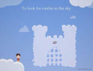 دانلود بازی کم حجم قلعه هایی در آسمان Castles in the Sky برای کامپیوتر - ویژهی تشویق بچهها برای خوابیدن