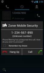 دانلود آنتی ویروس زونر برای اندروید Zoner Mobile Security v1.6.2