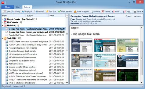 برنامه gmail_notifier