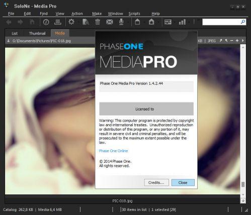 Phase One Media Pro