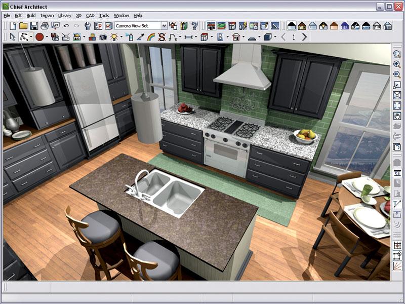 Chief architect premier x10 20 3 for 20 20 kitchen design software free download
