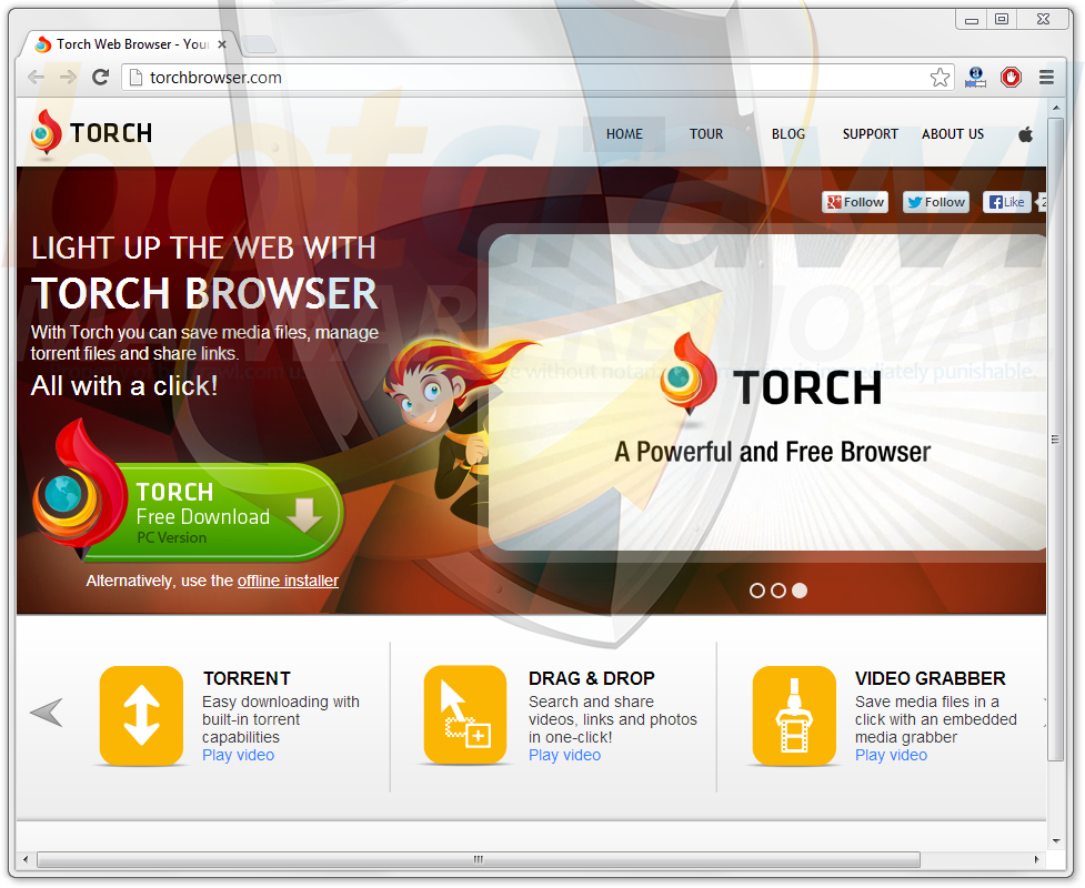 torch browser for android