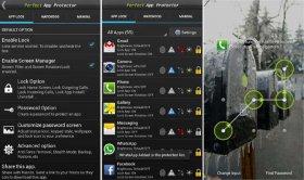ابزار عالی و قدرتمند جهت قفل گذاری روی برنامه ها و تمام قسمت های گوشی اندروید Perfect App Lock Pro v7.3.2