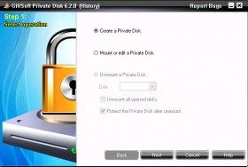 دانلود نرم افزار رمزگذاری روی درایوها GiliSoft Private Disk 6.3.0