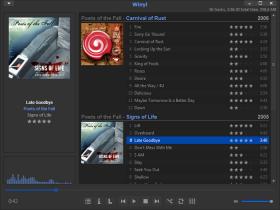 ابزاری عالی و قدرتمند جهت سازماندهی و پخش موزیک Winyl 3.0.3 Final