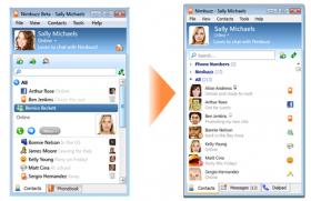 دانلود نیم باز ، تبادل اطلاعات و چت در اینترنت - Nimbuzz v2.9.4