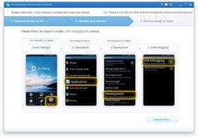 دانلود نرم افزار بازیابی اطلاعات پاک شده در گوشی و تبلت های آندروید Wondershare Dr.Fone for Android 5.6.1.14