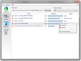 دانلود و تبدیل آسان ویدئوهای آنلاین با VDownloader Plus 4.5.2818