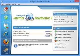 بهینه سازی و افزایش سرعت اینترنت و دانلود با  Ashampoo Internet Accelerator v3.30
