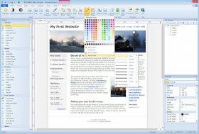 جدیدترین ورژن نرم افزار طراحي حرفه اي و ساخت صفحات وب با WYSIWYG Web Builder 12.1.2 + Extensions