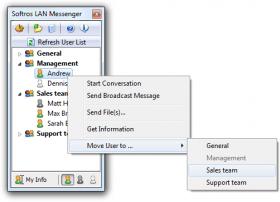 نرم افزار پیام رسان شبکه Softros LAN Messenger 7.3.4