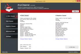 پاکسازی ویندوز AnyCleaner 1.03