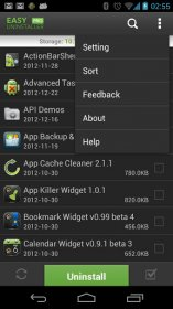 حذف آسان برنامه ها و بازی های نصب شده در اندروید Easy Uninstaller Pro v3.2.2