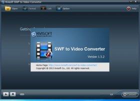تبدیل فیلم های فلش به سایر فرمت های ویدیویی Kvisoft SWF to Video Converter v1.5.2