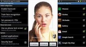 قفل کردن موبایل با تشخیص چهره با نرم افزار FaceLock for apps Pro 2.8.2 آندورید
