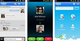دانلود نسخه جدید نرم افزار اسکایپ اندروید Skype Android 7.32.0.490 ...