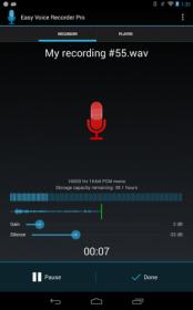 دانلود نرم افزار ضبط صدا با کیفیت بالا برای آندروید Easy Voice Recorder 1.9.13 Pro
