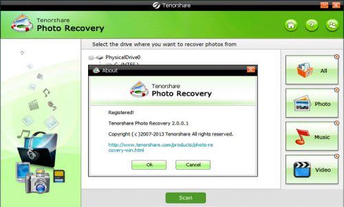 Tenorshare Photo Recovery v2.0.0.