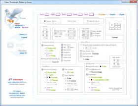 نرم افزار ایجاد پیش نمایش از فیلم Video Thumbnails Maker 10.0.0.5