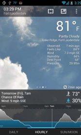 نرم افزار پیش بینی آب و هوا برای اندروید Weatherzone Plus v4.2.4
