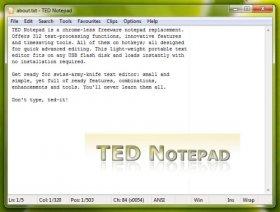ویرایشگر متن TED Notepad 6.0.2