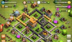 دانلود بازی کلش آف کلنز نبرد قبیله ها برای اندروید Clash of Clans 9.256.4