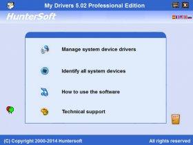 پشتیبان گیری و بروزرسانی درایورها My Drivers Pro 5.1.3808