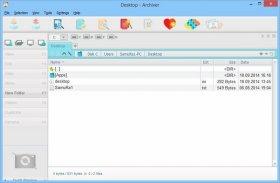 مدیریت و ایجاد فایل های فشرده ExeOne Archiver 2014 2.0.1.004