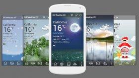 دانلود نرم افزار قدرتمند هواشناسی اندروید GO Weather Forecast & Widgets Premium v6.052