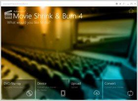 تبدیل و رایت فیلم Ashampoo Movie Shrink and Burn 4.0.0.20