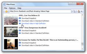 دانلود ویدیوهای فیس بوک MassFaces 4.1.7.131