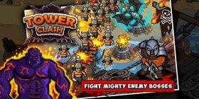 دانلود بازی برج سازی و دفاعی اندروید Tower Clash 1.0