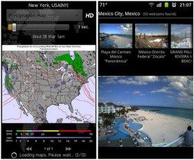 نرم افزار پیش بینی آب و هوا اندروید Weather Services Pro 4.7 + Add-on