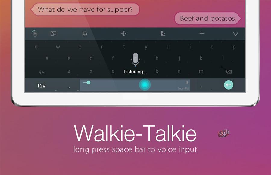 دانلود رایگان تم های پولی اندروید کیبورد سریع و زیبای تاچ پال برای اندروید TouchPal Keyboard ...