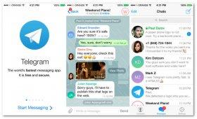 نرم افزار تلگرام برای اندروید Telegram 4.0.1