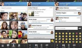 دانلود مسنجر بلک بری برای اندروید Blackberry Messenger v3.3.9.127