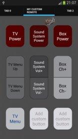 تبدیل گوشی اندروید به کنترل از راه دور تلویزیون Galaxy Universal Remote v4.1.6