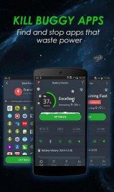 افزایش عمر باتری اندروید با نرم افزار دکتر باتری Battery Doctor (Battery Saver) v6.18