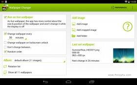 تغییر خودکار پس زمینه گوشی اندروید Wallpaper Changer Premium v3.8.2