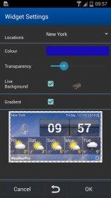 حرفه ای نرم افزار هواشناسی برای اندروید WeatherPro Premium v4.0.1