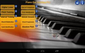 آموزش پیانو برای اندروید Piano Ear Training Pro vCompiled