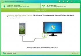 بازیابی اطلاعات حذف شده از گوشی و تبلت های اندروید Tenorshare Android Data Recovery 5.2.0.0