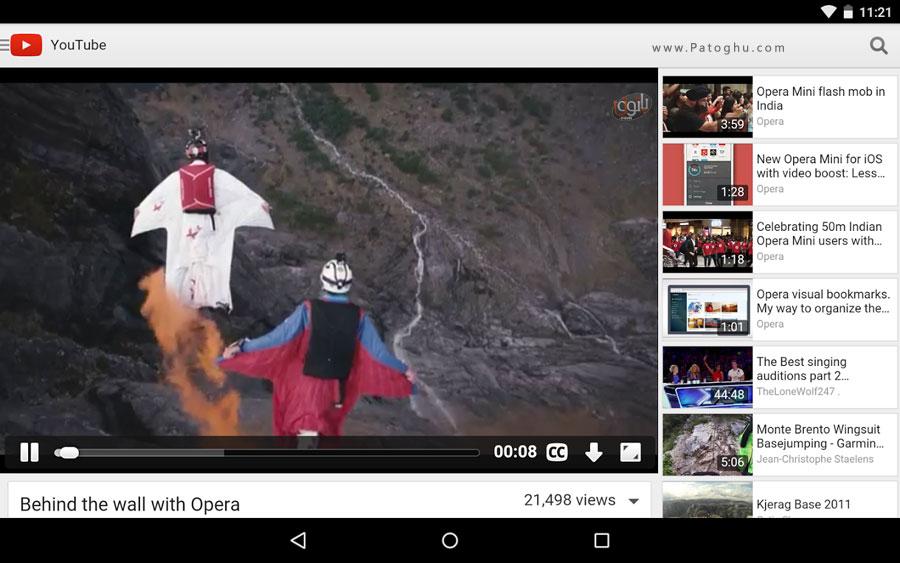 مرورگر سریع اپرا برای اندروید Opera browser ...