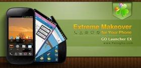 تغییر ظاهر و پوسته آندروید با نسخه جدید نرم افزار 5.15 Go Launcher EX