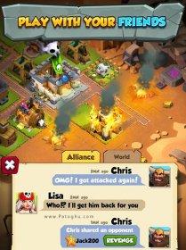 بازی جنگ در جزیزه برای اندروید Island Raiders War of Legends v1.1.3