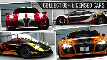دانلود بازی مسابقه ماشین برای اندروید CSR Racing v2.5.0