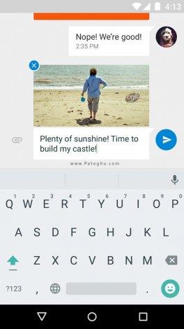 مسنجر گوگل برای اندروید Google Messenger v2.1.060