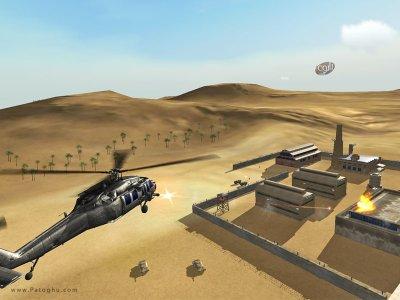 بازی شبیه ساز خلبانی هلیکوپتر جنگی برای اندروید Helicopter Sim Pro v1.0