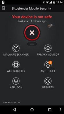 آنتی ویروس بیت دیفندر برای اندروید Bitdefender Mobile Security & Antivirus v3.2.104.254